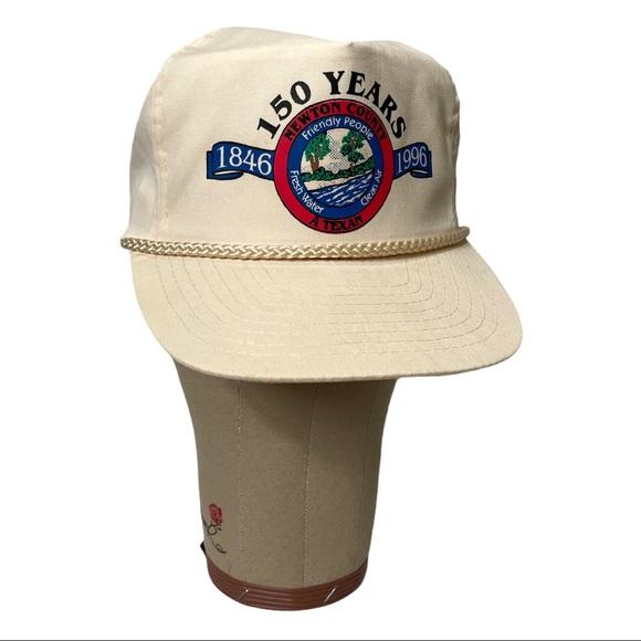 Old school SnapBack 1996 160yrs Newton Texas Vtg